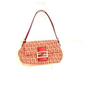 Authentic Vintage Fendi Borsa Mini Mama Bag